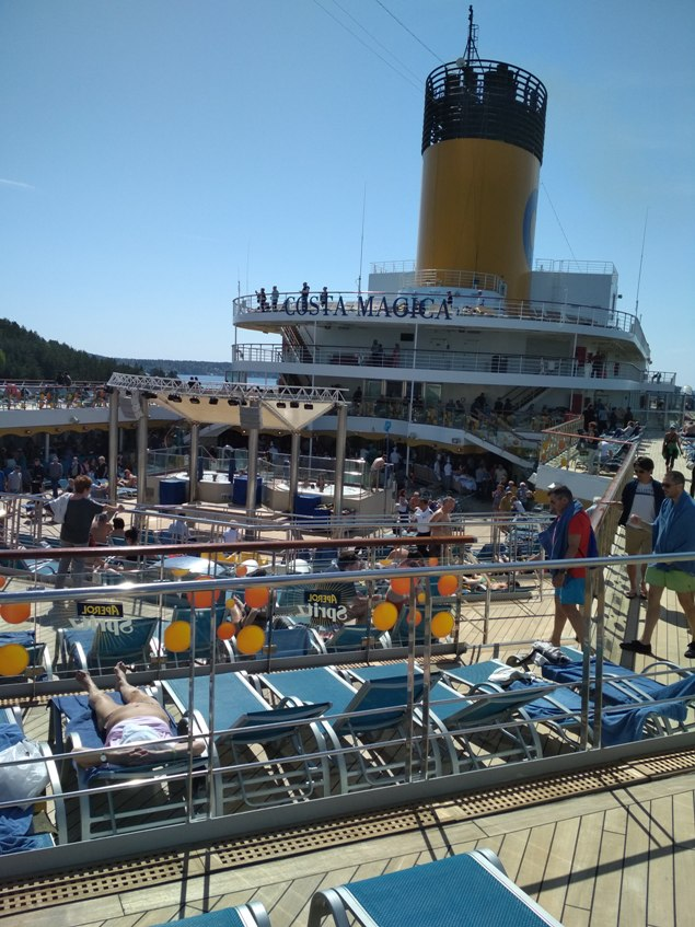 NAPAROME.RU / Морской лайнер Costa Magica в мае 2018