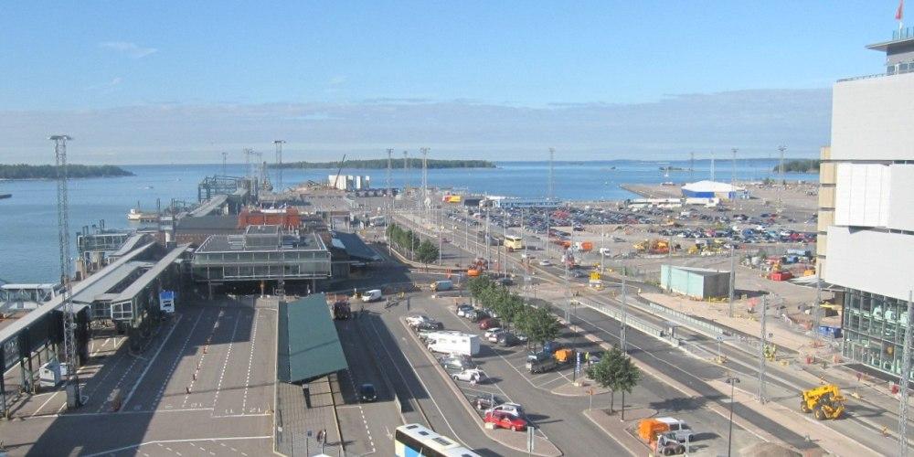 NAPAROME.RU / Порт Länsisatama / West Harbour / Западный порт в Хельсинки
