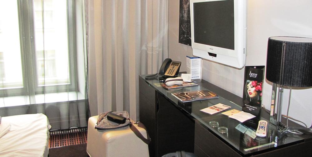 NAPAROME.RU / Tallink Hotel Riga. Стандартный номер.