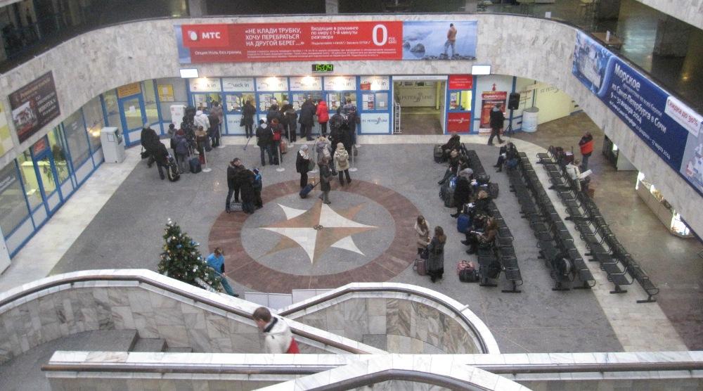 NAPAROME.RU / Морской вокзал в Санкт-Петербурге. Порт прибытия/отправления паромов Принцесса Мария и Принцесса Анастасия