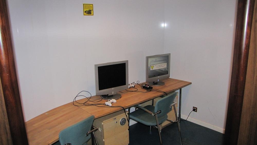 Комната компьютерных игр для детей постарше на пароме Финнлайнс