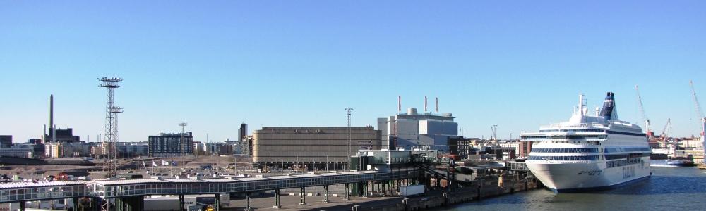 NAPAROME.RU / Паром Silja Europa в Западном порту Хельсинки