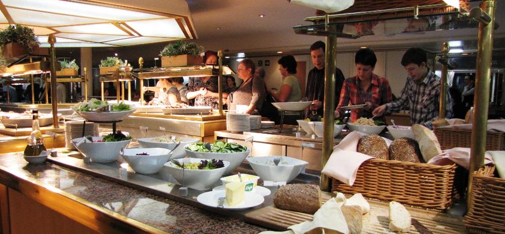 Рестораны со шведским столом в санкт-петербурге