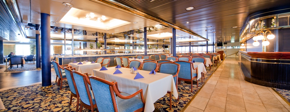 Ресторан Семь морей на пароме Принцесса Мария