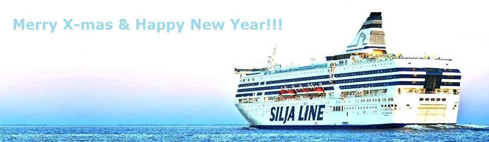 NAPAROME.RU / В Новый 2015 год на пароме Silja Line!