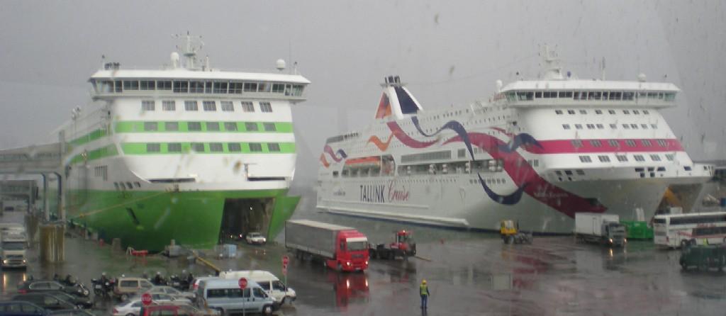 Terminal D. Tallinn. Tallink. www.NaParome.ru