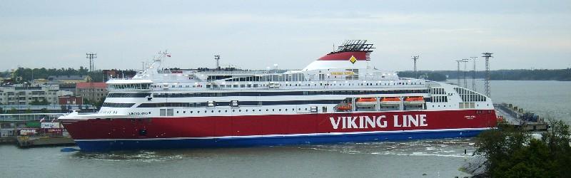 паром Viking XPRS компании Viking Line