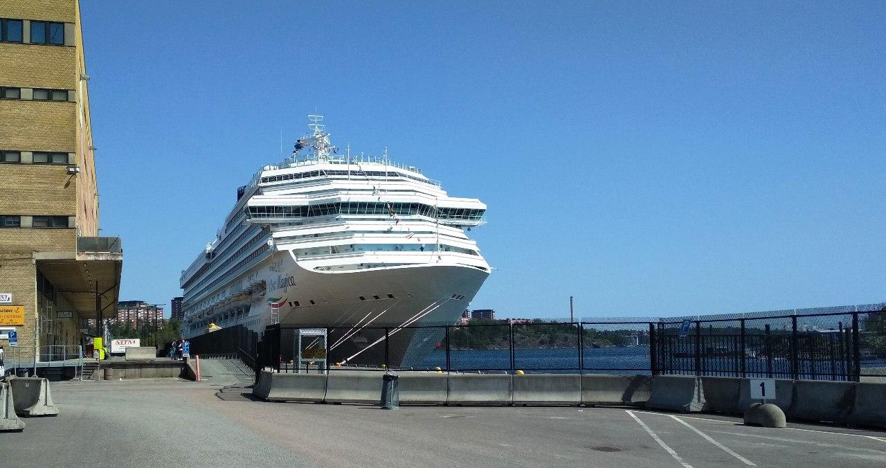 NAPAROME.RU / Морской лайнер Costa Magica
