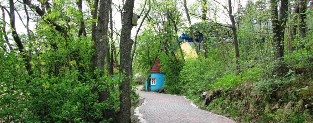 Сказочная страна Муми-троллей в Naantali (Финляндия)
