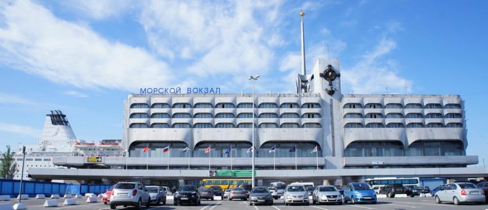 NAPAROME.RU / Морской вокзал в Санкт-Петербурге. Площадь Морской Славы дом 1