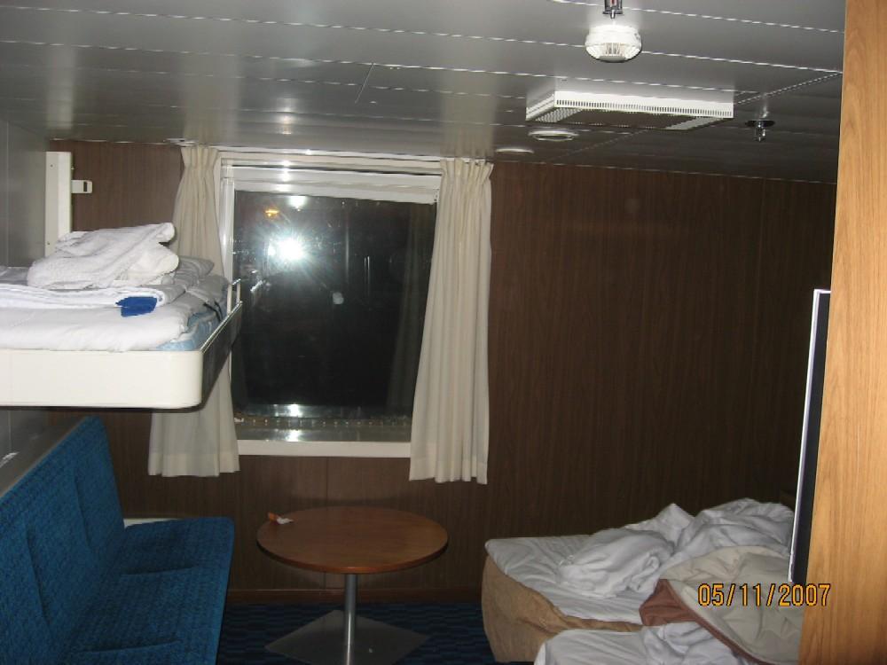 Паром Finnstar Паромная компания Finnlines Каюта А4