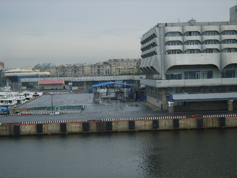Морской вокзал в Санкт-Петербурге. Причал парома Принцесса Мария.