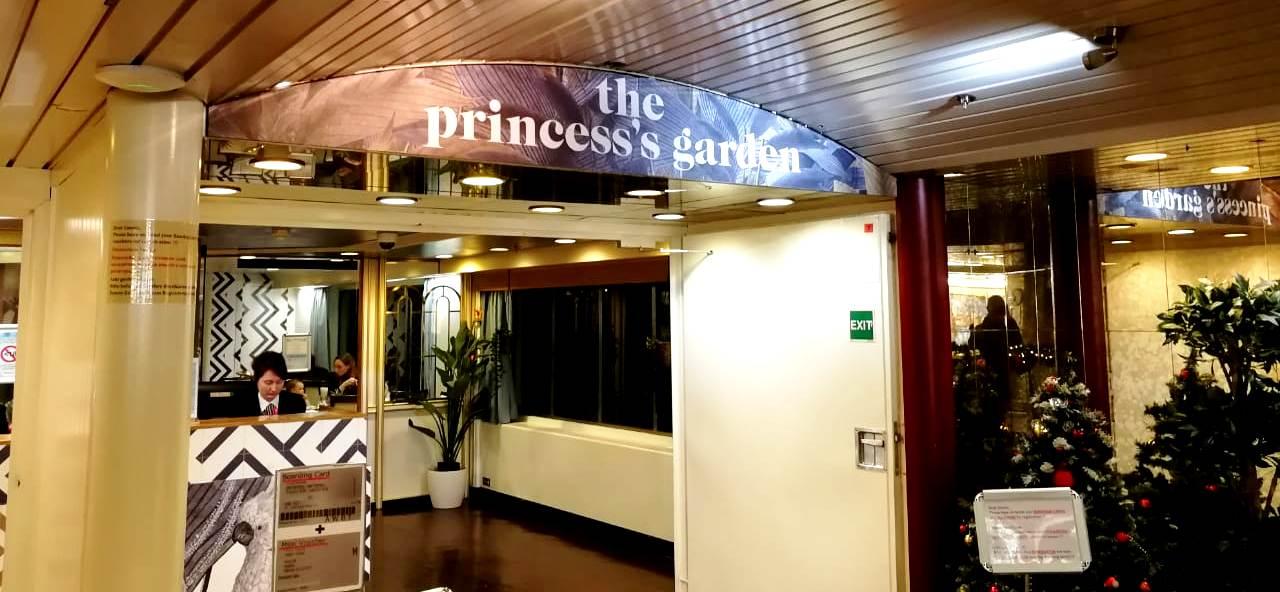 #naparome  The Princess's Garden  #princesssgarden Шведский стол на пароме Принцесса Анастасия
