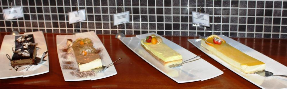 NAPAROME.RU / Шведский стол на паромах Tallink Silja Line. Торты и пирожные. Новая концепция