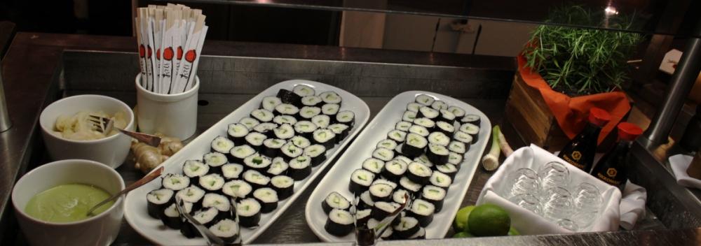 NAPAROME.RU / Шведский стол на паромах Tallink Silja Line. Деликатесы японской кухни