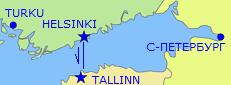 NAPAROME.RU / Паром Princess Maria Хельсинки-Таллинн