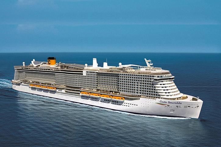 NAPAROME.RU / Майские 2020 праздники на самом новом итальянском лайнере Costa Smeralda