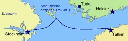 NAPAROME.RU / Маршруты паромной компании Таллинк-Силья