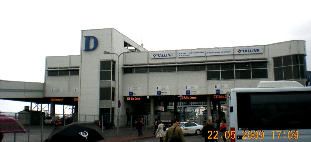 Terminal D, Tallinn, Tallink Silja Oy