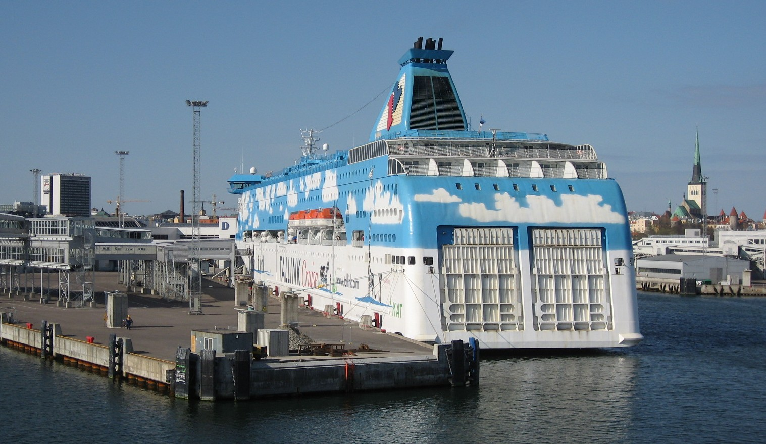 Terminal D, Tallink Silja Oy.   www.NaParome.ru